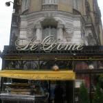 モンパルナスのカフェ「ル・ドーム」