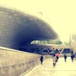 新国立競技場設計案のザハ・ハディドによるソウル・東大門デザインプラザ
